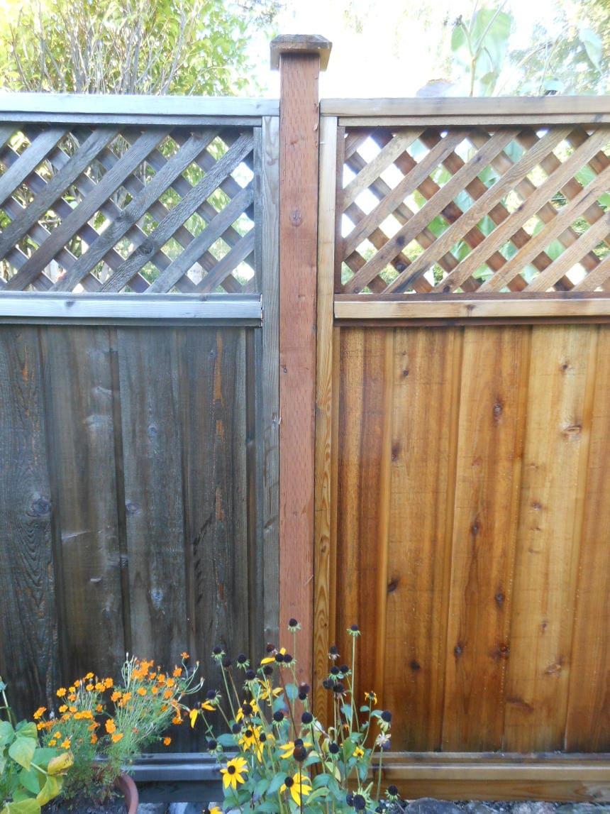 Fence Aged Fresh